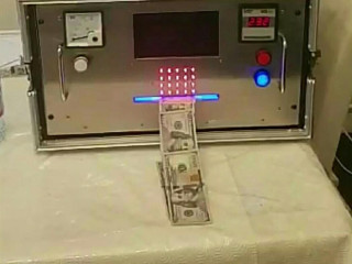 Solução Química Ssd Para Limpeza De Dólares Grátis Primeiro Teste Preto