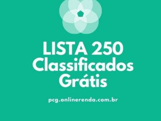 Lista com sites de classificados grátis mais de 250 sites