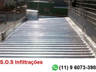 S.o.s Infiltrações, Impermeabilização De Lajes, Telhados, Paredes E Piscina